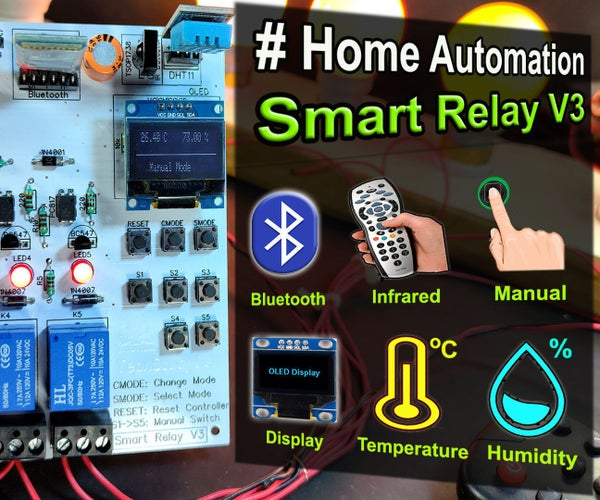 How to Make Smart Home Using Arduino Control Relay Module | Home Automation Ideas