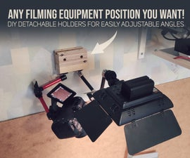 Detachable Holders for Quick & Perfect Camera Angles
