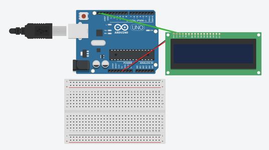 Attach LCD to Arduino