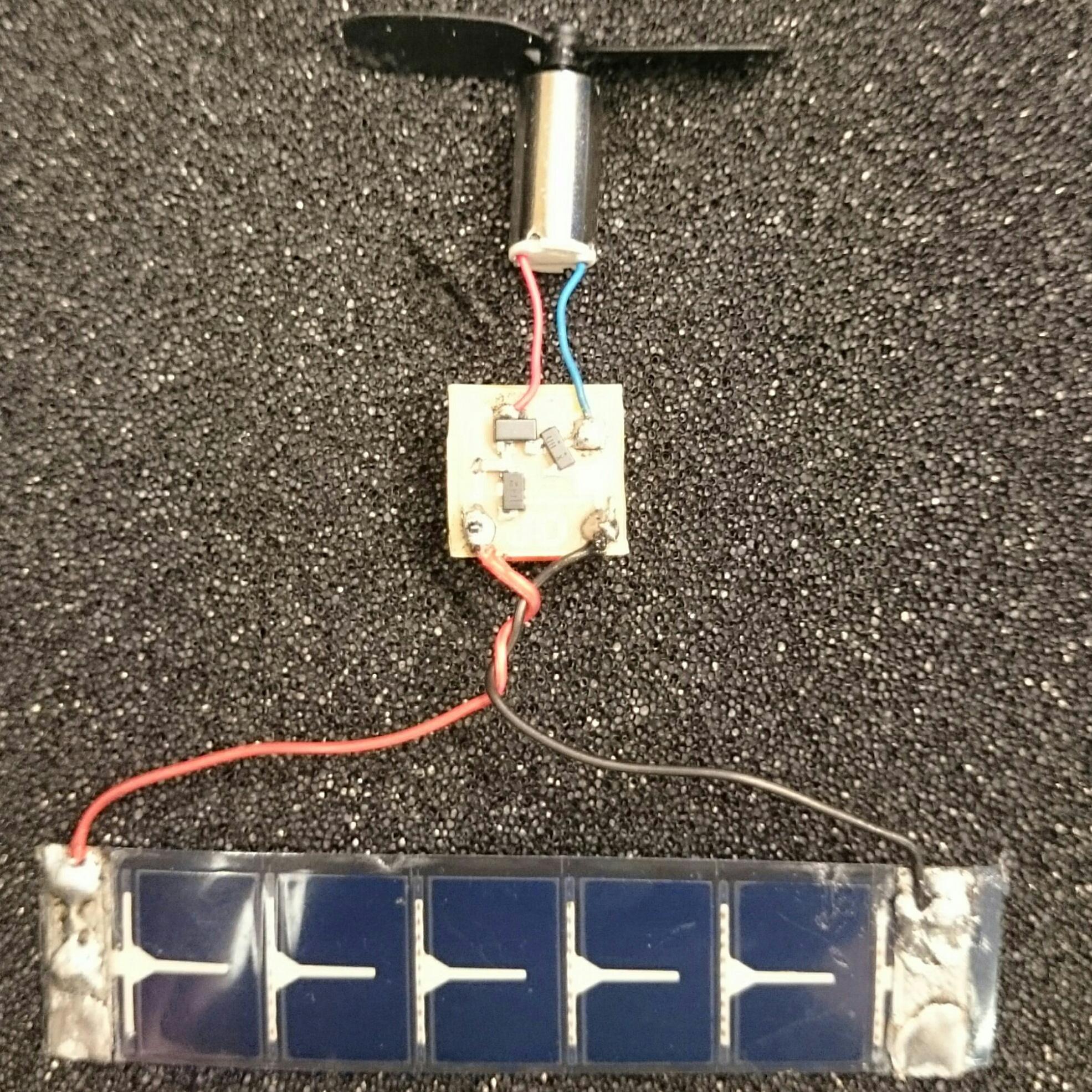 Micro solar engine