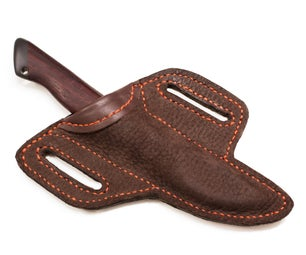 Buffalo Leather Sheath for a Carving Knife