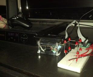 Raspberry Pi - Simple 2x2x2 Led Cube