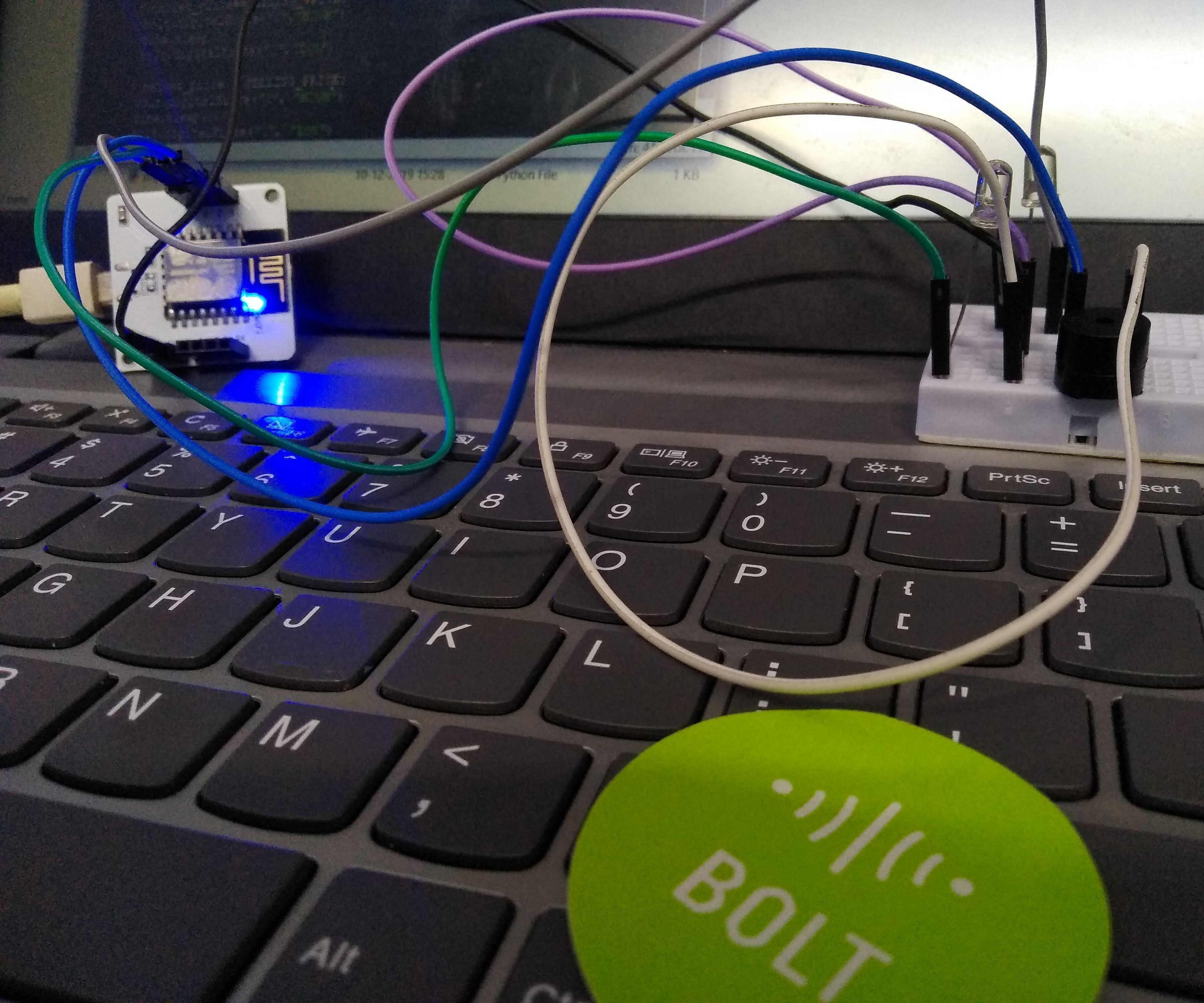 Crypto-notify Using Bolt-IoT