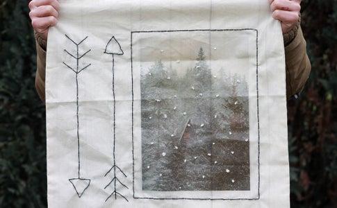 Winter Scene Tote