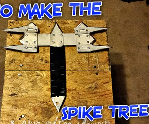 HOW TO MAKE THE SPIKE TREE!!!