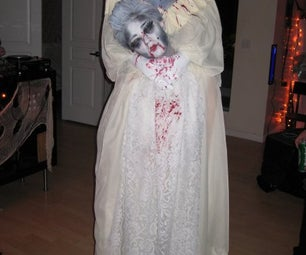 How to Make a Headless Marie Antoinette Halloween Costume