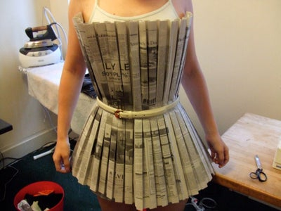 Trying on the Bodice