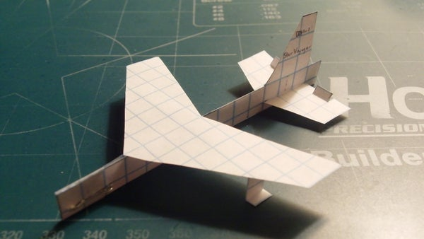 How to Make the StarVoyager Paper Airplane