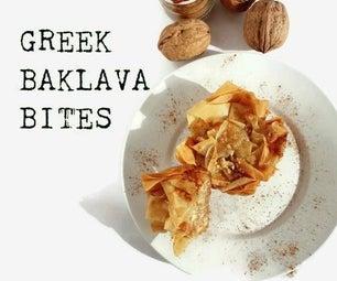 Greek Baklava Bites