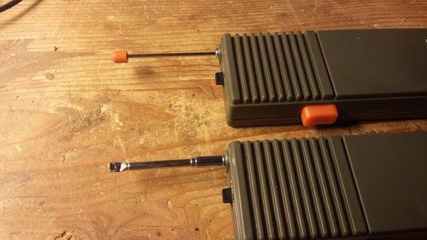 Replace an Antenna Tip With Sugru