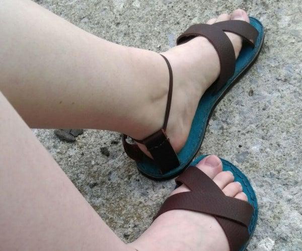 Leather Sandal DIY