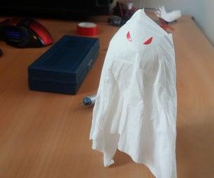 Cheap Flying Ghost Halloween Prank!