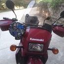 Motorcycle (KLR650) PIAA Light Mod.