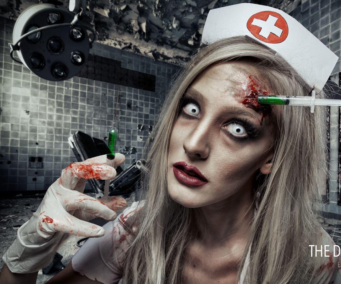 Dead Nurse - SFX Makeup Tutorial