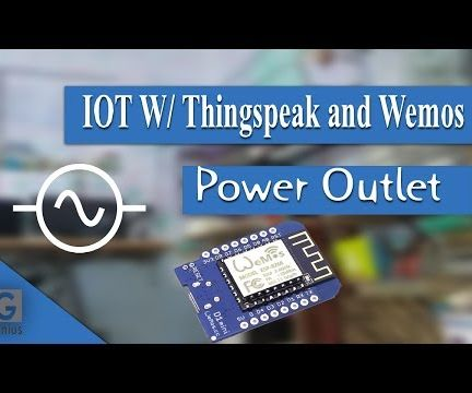 IOT Enabled Power Outlet Using WeMOS