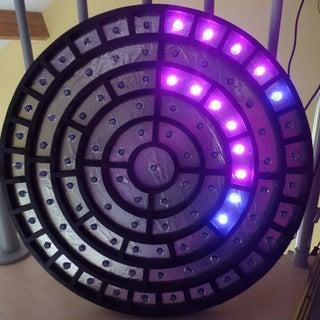 Cryptic Wall Clock
