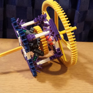 Worlds Smallest K'nex Orbital Gear Assembly