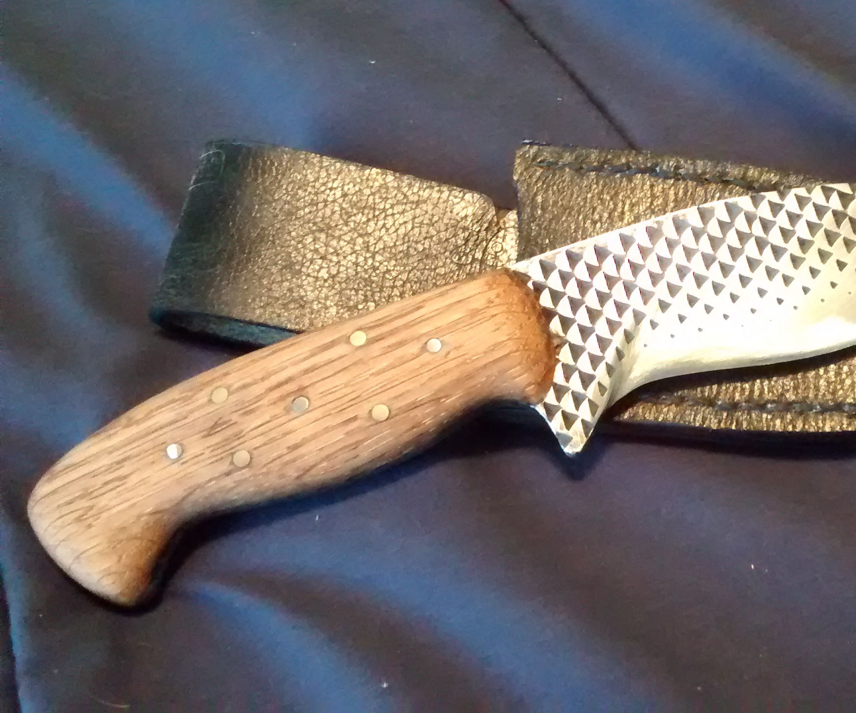 Knife From a Rasp