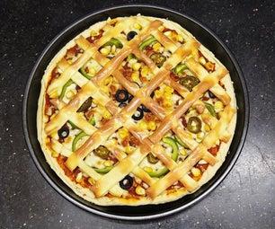 Double Burst Cheese Pizza