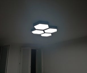 Modern Hexa LED Lamp With Bluetooth