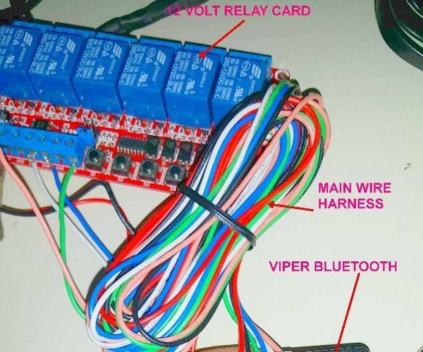 Testing a Viper Bluetooth Smart Start Module
