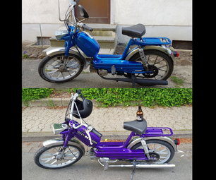 Restoration of a 1973 DKW 535 moped