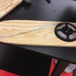 Creating an LED Skateboard