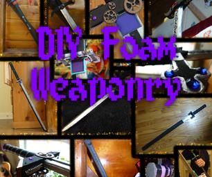 Forging a Blade - DIY Foam Weapons