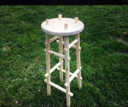 TWO 2X4 STOOL