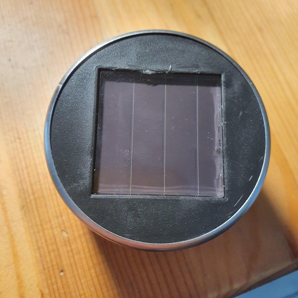 Disassemble a Solar Garden Light