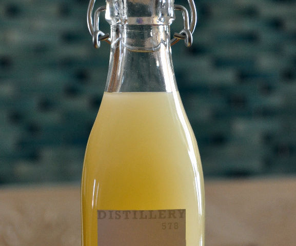 Homemade limoncello + variations