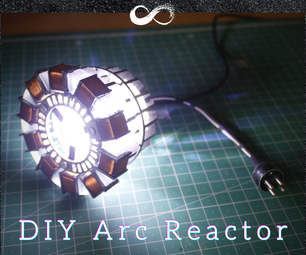 Easy MK1 Arc Reactor Replica (From Iron Man Movie)