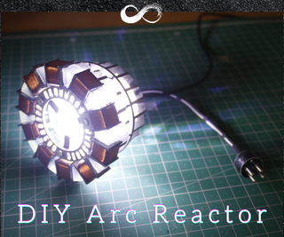 Easy MK1 Arc Reactor Replica (From Iron Man Movie)  Templates Available