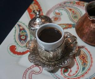 如何制作土耳其咖啡