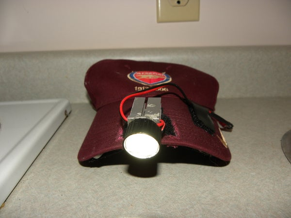 3W LED Hat Lamp - 300 Lumens