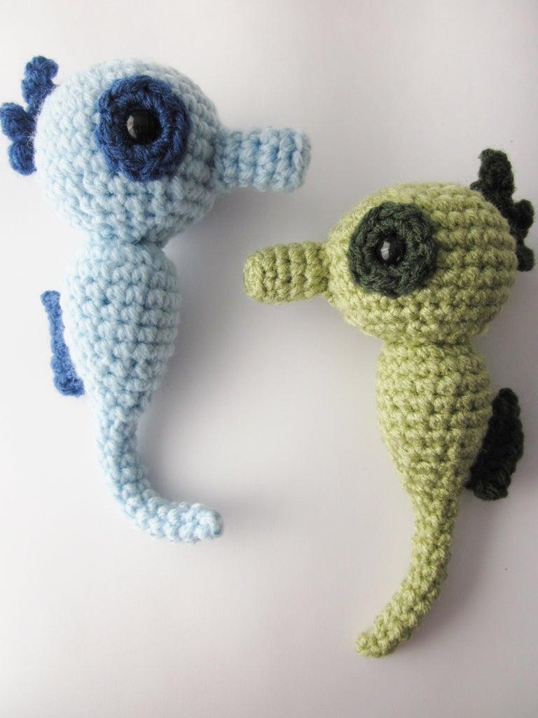 Amigurumi Seahorse Crochet Pattern