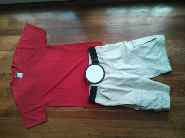 Poke Ball Costume