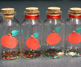 How to Make an Easy Teacher's Day (Back to School) Gift - Mini Apple in a Bottle!