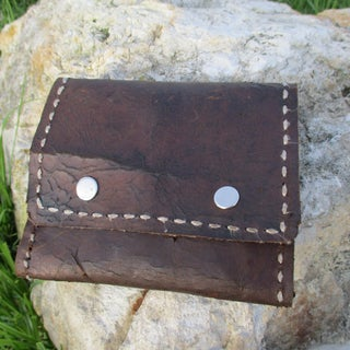 A Leather Pouch for the Pocket Fire Box