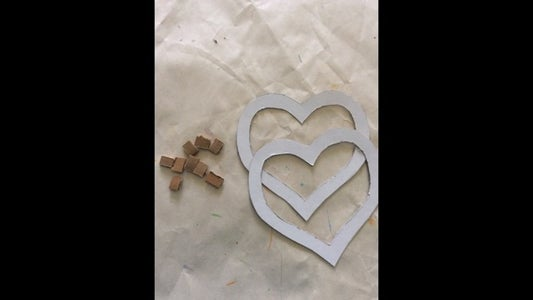 Making Hearts in Cardboard