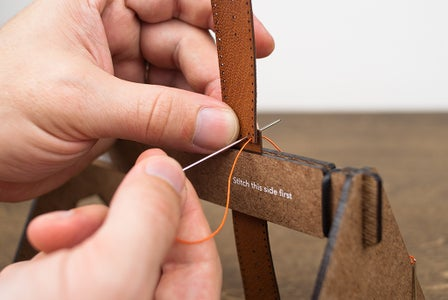 Saddle Stitching - This Side First