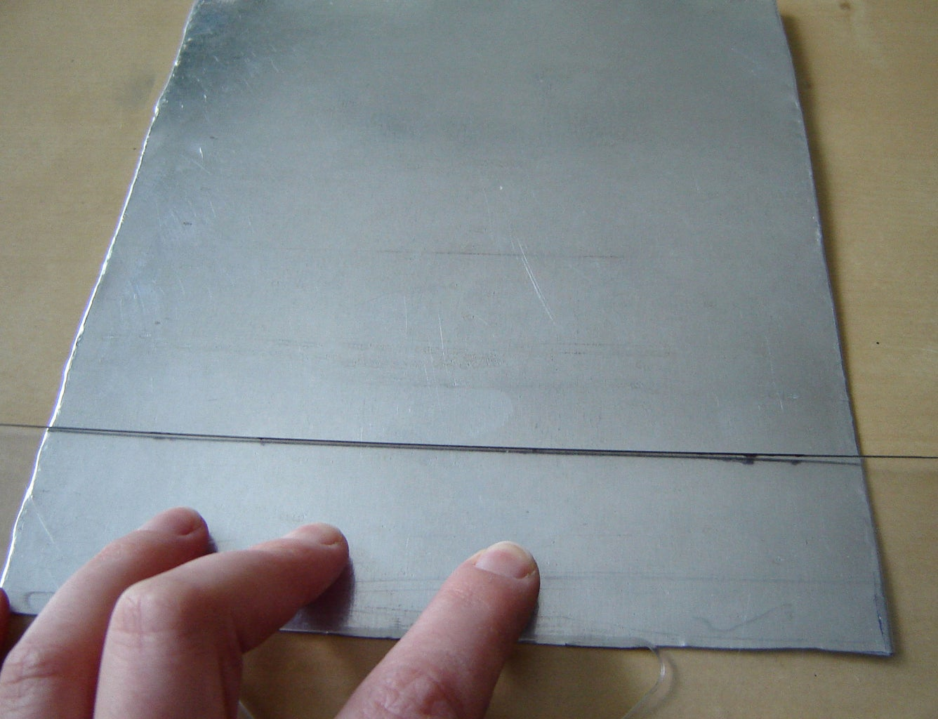 Preparing the Sheet Metal