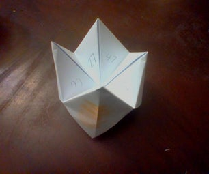 How to Make a Simple Cootie Catcher/Fortune Teller