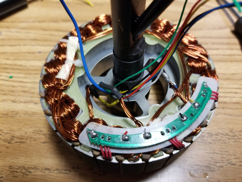 Rewiring the Motor