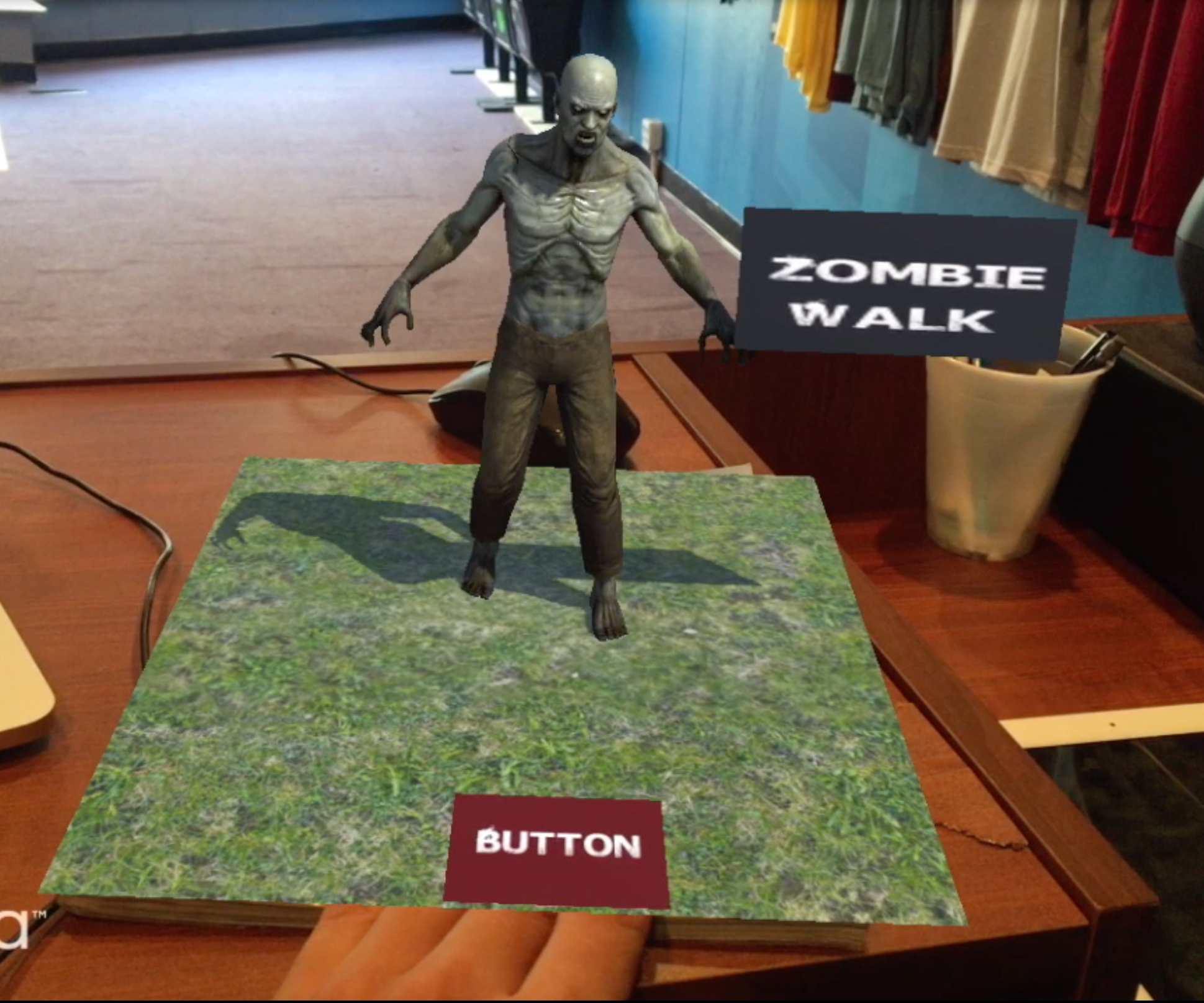 How to Augmented Reality Tutorial: Virtual Buttons