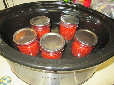 Place Your Jam Into Containers and Can - or Not