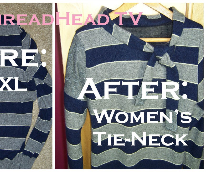 Men's XL Cashmere Sweater Upcycle