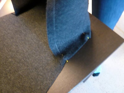 Sew Bottom and Side Seams and Add Webbing Loops