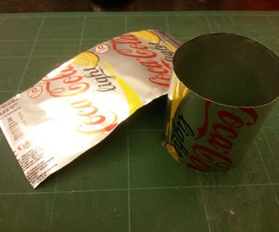 Safely Cut Open a Soft-drink Can