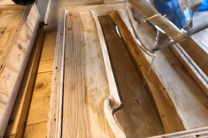 Pour the First Layer